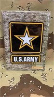 5 Each US Army  Metal Sign New
