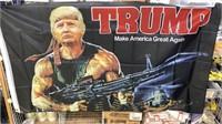 5 Each Trump Rambo Flags New
