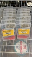 12 Each 100 Pc Small Fastener Assortment New