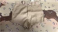 24 Each Tan Swimming Trunks Size 28 New
