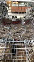 12 Each Army Brown Men's Briefs 3 Per S30 New