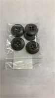 145 Each OD Green BDU Buttons 5 Per