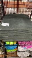 9 Each Green Bath Towels New