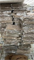 130 Each Brown Handkerchiefs 4 Per New