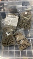4 Each Coyote Tan Buckle Sets New