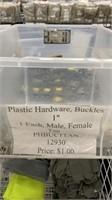 50 Each Tan 1in Buckles Male & Female New