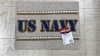 3 Each Door Mats 2 Navy 1 America New