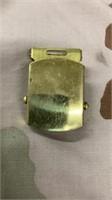 99 Each Brass Belt Buckles Used