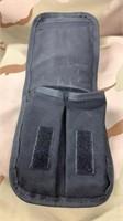 10 Each Black Textile Bag Used