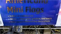 67 Each Anthem Americana Mini Flags New