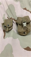 9 Each Coyote Tan 5 Hand Grenade Pouch 4 100rd