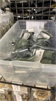 23 Each OD Green Chin Straps New