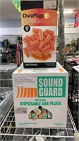 3 Boxes Estimated 550 Disposable Ear Plugs New