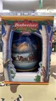 2 Each 2000 Budweiser Holiday Stein New