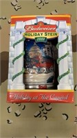 Budweiser 2001 Holiday At The Capital Stein New