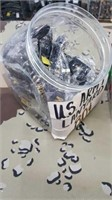 53 Each Army Keychain /  Lanyard, Lighters