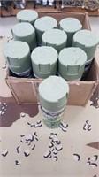 10 Each New Camouflage 12oz. Spray Paint