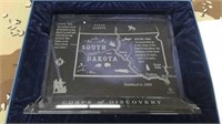 2 Each Lewis & Clark South Dakota Crystal New