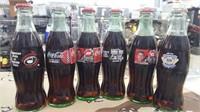 23 Each 8 oz. Collectable Coca - Cola Bottles