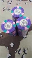 3 Each U.S. Navy Poker Chips New