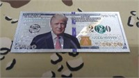 30 Each 2020 Collector Trump Money New