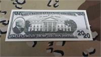 30 Each 2020 Collector Trump Money New