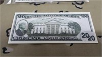 41 Each 2020 Collector Trump Money New