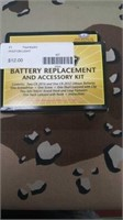 10 Each Battery Replacement & Accessory Kit New