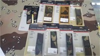 9 Each Mini Maglite Nylon Camo Holsters New