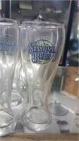 9 Each Samuel Adams Pint Glasses New