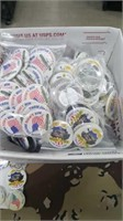 300 Each Patrotic Hat Pins New