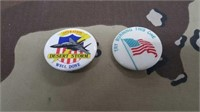 234 Each Patrotic Hat Pins New
