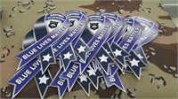 26 Each Blue Lives Matters Magnets New