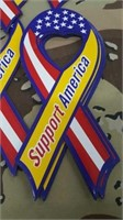 40 Each Support America Magnets New