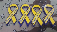 40 Each Support Our Troops Magnets New