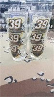 6 Each Ryan Newman Shot Glasses New