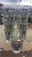 9 Each Combat Medic Shot Glasses New