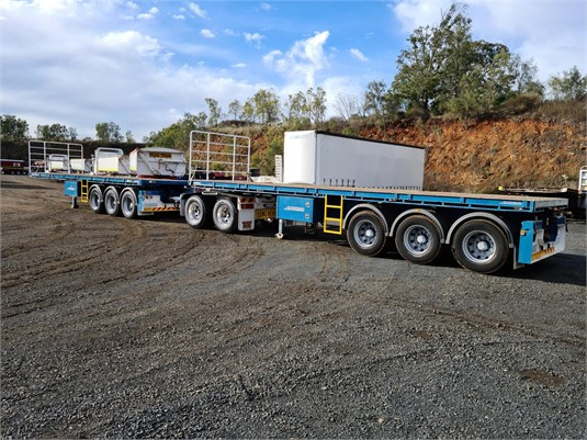 2014 Maxitrans Flat Top Trailer - Trailers for Sale