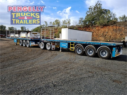 2014 Maxitrans Flat Top Trailer Pengelly Truck & Trailer Sales & Service - Trailers for Sale