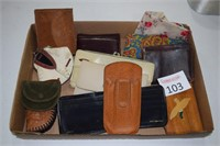 Assortment of Wallets & Coin Cases