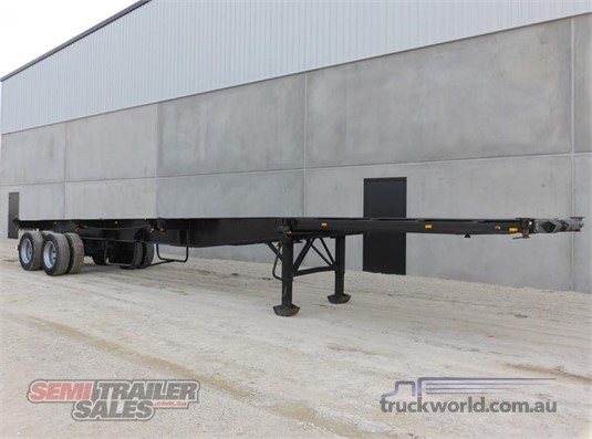 2000 Consultrans Skeletal Trailer - Trailers for Sale