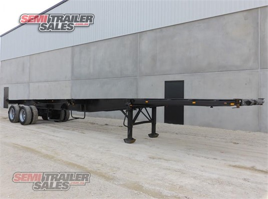 2000 Consultrans Skeletal Trailer Semi Trailer Sales Pty Ltd - Trailers for Sale