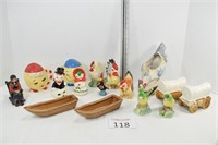 Assortment of S & P & Other Figurines