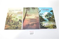 (3) National Geographic Society Books