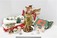 Angels & Holiday Linens