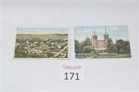 (2) Antique Kentucky Postcards
