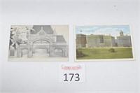 (2) Antique Chicago Postcards