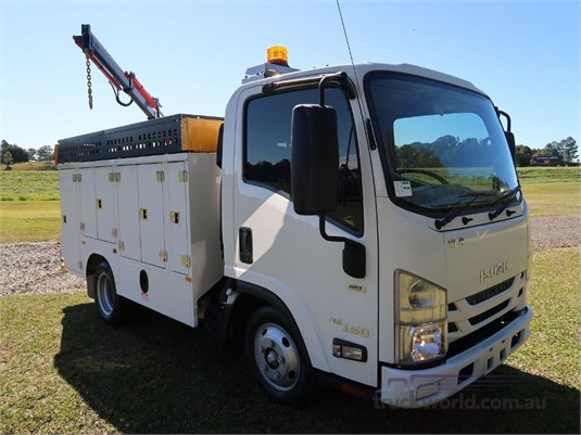 2016 Isuzu NLR 45 150 AMT SWB Servicepack - Trucks for Sale