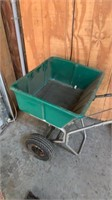 Green Spreader Cart