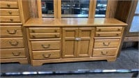 4 Pc Bedroom Suite With Frame & Mirror